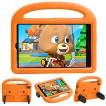 Huawei Mediapad M5/M6 Hoes - 8.4 inch - Schokbestendige case met handvat - Sparrow Kids Cover - Oranje