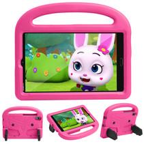 Huawei Mediapad M5/M6 Hoes - 8.4 inch - Schokbestendige case met handvat - Sparrow Kids Cover -  Roze