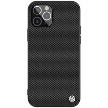 Nillkin - iPhone 12 / 12 Pro hoesje - Textured Case - Back Cover - Zwart