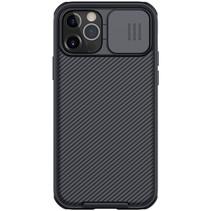 Apple iPhone 12 / 12 Pro hoesje - CamShield Pro Armor Case - Back Cover - Zwart