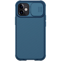 Apple iPhone 12 / 12 Pro hoesje - CamShield Pro Armor Case - Back Cover - Blauw