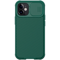Apple iPhone 12 / 12 Pro hoesje - CamShield Pro Armor Case - Back Cover - Groen