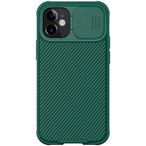 Nillkin - iPhone 12 / 12 Pro hoesje - CamShield Pro Case - Back Cover - Groen