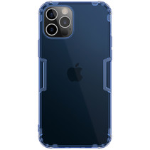 Nillkin - iPhone 12 Pro Max hoesje - Nature TPU Case - Back Cover - Donker Blauw