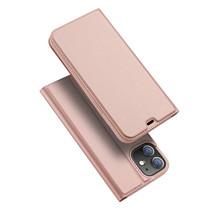 iPhone 12 Mini hoesje - Dux Ducis Skin Pro Book Case - Rosé Goud