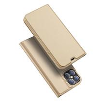 iPhone 12 Pro Max hoesje - Dux Ducis Skin Pro Book Case - Goud