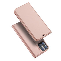 iPhone 12 Pro Max hoesje - Dux Ducis Skin Pro Book Case - Rosé Goud
