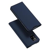 Samsung Galaxy A42 5G hoesje - Dux Ducis Skin Pro Book Case - Donker Blauw