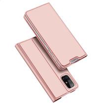 Samsung Galaxy M31s hoesje - Dux Ducis Skin Pro Book Case - Rosé Goud