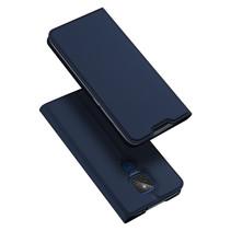 Motorola Moto G9 Play hoesje - Dux Ducis Skin Pro Book Case - Blauw