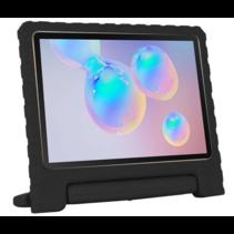 Samsung Galaxy Tab S6 Lite hoes - Schokbestendige case met handvat - Zwart