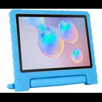 Samsung Galaxy Tab S6 Lite hoes - Schokbestendige case met handvat - Licht Blauw