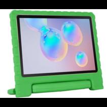 Samsung Galaxy Tab S6 Lite hoes - Schokbestendige case met handvat - Groen
