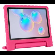 Samsung Galaxy Tab S6 Lite hoes - Schokbestendige case met handvat - Magenta