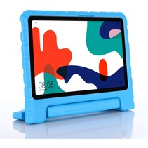 Huawei MatePad 10.4 hoes - Schokbestendige case met handvat - Blauw