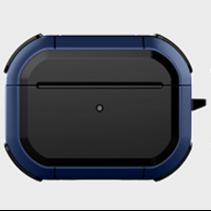 WIWU - Airpods Pro hoesje - Airpods Pro Case - Donker Blauw