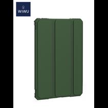 iPad 10.2 2020 hoes - Schokbestendige Tri-Fold Case met TPU frame - Alpha Smart Folio Case - Groen