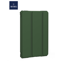 iPad Air 10.9 2020 hoes - Wiwu Extreme Tri-Fold Case - Groen