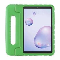 Samsung Galaxy tab A 8.4 (2020) - 8.4 inch - Schokbestendige case met handvat - Eva Kids Cover - Groen
