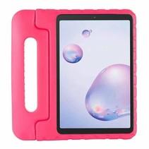 Samsung Galaxy tab A 8.4 (2020) - 8.4 inch - Schokbestendige case met handvat - Eva Kids Cover - Magenta