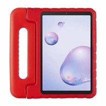 Samsung Galaxy tab A 8.4 (2020) - 8.4 inch - Schokbestendige case met handvat - Eva Kids Cover - Rood