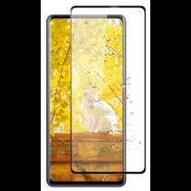 Samsung Galaxy M31s Screenprotector - Full Cover Screenprotector - Zwart