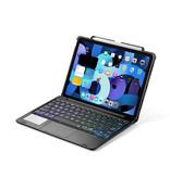Case2go iPad Air 10.9 (2020) case - Bluetooth Toetsenbord hoes - met Touchpad - Zwart