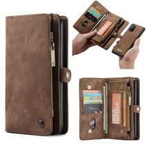 CaseMe - Samsung Galaxy A51 hoesje - 2 in 1 Wallet Book Case - Bruin