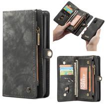 CaseMe - Samsung Galaxy A71  hoesje - 2 in 1 Wallet Book Case - Zwart