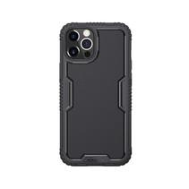 Nillkin - iPhone 12 / iPhone 12 Pro hoes - Tactics Case - Bumper Case - Zwart