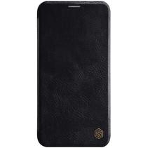Apple iPhone 11 Pro Hoesje - Qin Leather Case - Flip Cover - Zwart