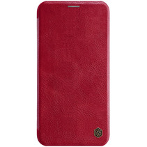 Apple iPhone 11 Pro Hoesje - Qin Leather Case - Flip Cover - Rood