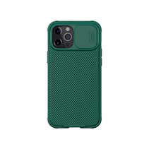 Apple iPhone 12 Pro Max cover - CamShield Pro Armor Case - Donker Groen