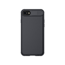 Apple iPhone SE 2020/7/8 cover - CamShield Pro Armor Case - Zwart