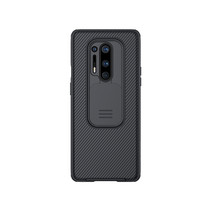 One Plus 8 Pro back cover - CamShield Pro Armor Case - Zwart