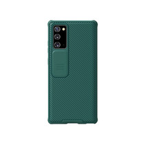 Samsung Galaxy Note 20 back cover - CamShield Pro Armor Case - Donker Groen