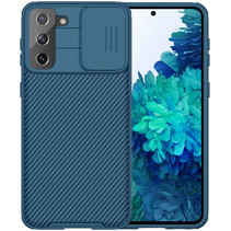 Samsung Galaxy S21 Plus Back Cover - CamShield Pro Armor Case - Blauw