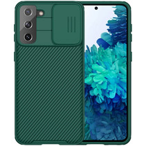 Samsung Galaxy S21 Plus Back Cover - CamShield Pro Armor Case - Groen