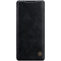 Huawei Mate 40 Pro Plus Hoesje - Qin Leather Case - Flip Cover - Zwart