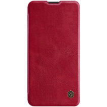 Samsung Galaxy A10s Hoesje - Qin Leather Case - Flip Cover - Rood