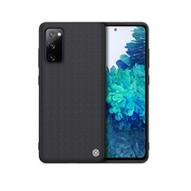 Nillkin - Samsung Galaxy S20 FE hoesje - Textured Case - Back Cover - Zwart