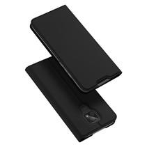 Motorola Moto E7 Hoesje - Dux Ducis Skin Pro Book Case - Zwart