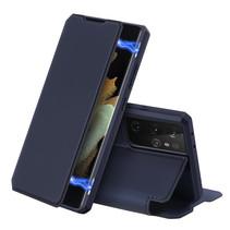 Samsung Galaxy S21 Ultra hoesje - Dux Ducis Skin X Case - Blauw