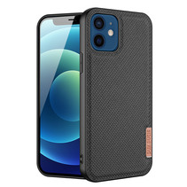 Dux Ducis - iPhone 12 Mini hoesje - Fino Series - Back Cover - Zwart