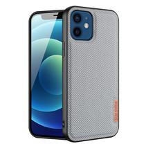 Dux Ducis - iPhone 12 / 12 Pro hoesje - Fino Series - Back Cover - Licht Blauw