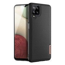 Dux Ducis - Samsung Galaxy A12 hoesje - Fino Series - Back Cover - Zwart