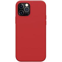 Nillkin - iPhone 12 / 12 Pro Hoesje - Flex Pure Pro Serie - Back Cover - Rood