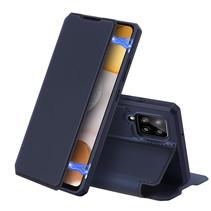 Samsung Galaxy A42 5G Hoesje - Dux Ducis Skin X Case - Blauw