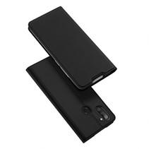 Samsung Galaxy M11 Hoesje - Dux Ducis Skin Pro Book Case - Zwart
