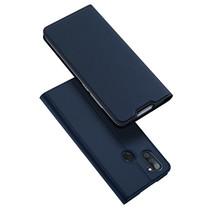 Samsung Galaxy M11 Hoesje - Dux Ducis Skin Pro Book Case - Blauw